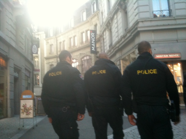rambos police Lausanne