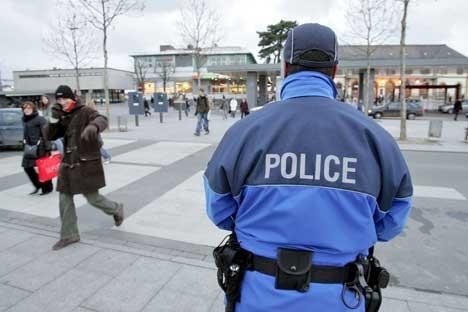 Police gare Yverdon