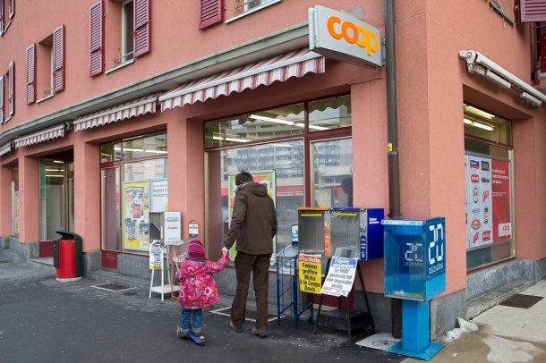 Coop Genève supermarché