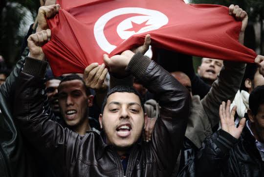 tunisiens tunisie drapeau