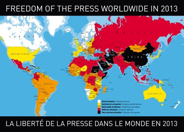 carte liberté de la presse
