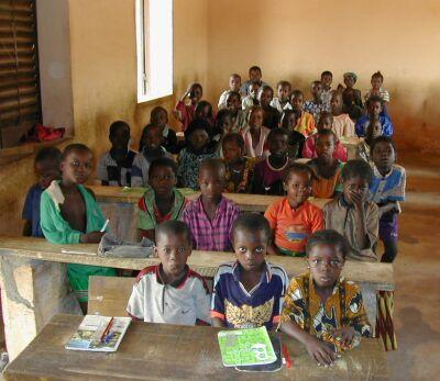 classe africains enfants