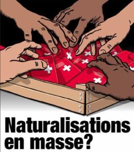 passeports naturalisation affiche UDC