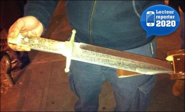 glaive épée sabre