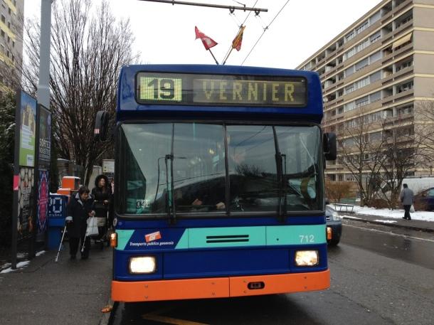 bus TPG Genève