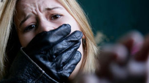 viol gants blonde