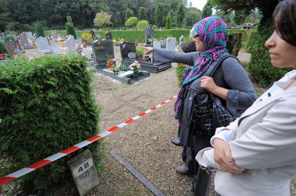 cimetiere musulman islam voile voilée