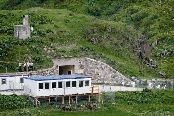 centre requérants asile montagne militaire
