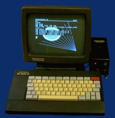 Электроника БК-0010 soviet computer 1985