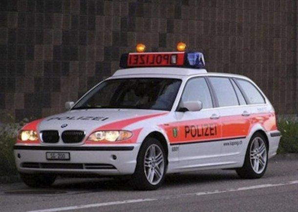 voiture police st-gall polizei