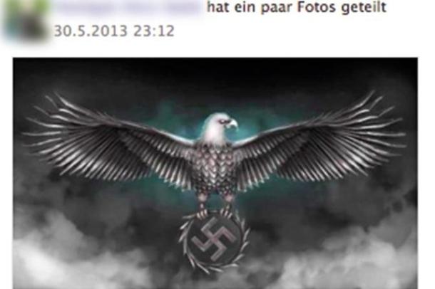 Une des photos que l'on peut trouver sur le réseau social Fumano.com, selon le Beobachter.