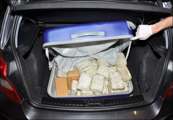 héroïne coffre valise drogue