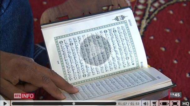 coran tessin musulman tsr télé muslim islam