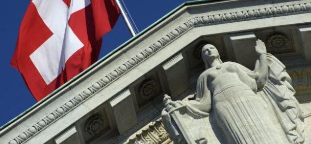 tribunal justice juges suisses drapeau