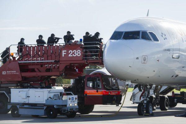 L'exercice simulait une prise d'otage sur un vol Zurich-Istanbul.