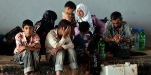 famille syrienne réfugiés asile arabes voile muslims