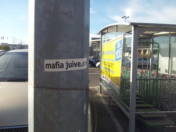 mafia juice autocollant migros supermarché caddie