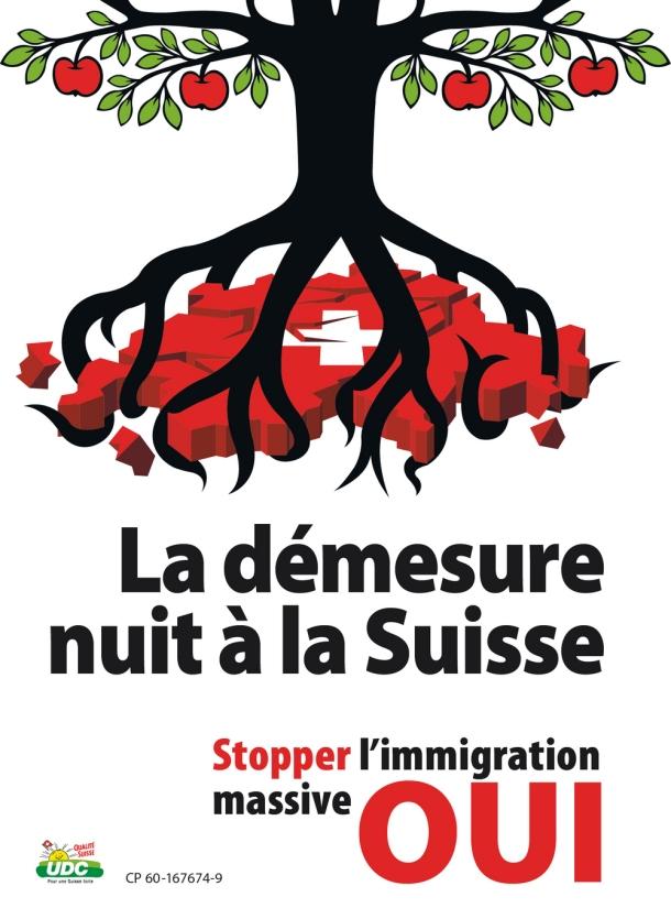 affiche duc immigration 2014 arbre racines