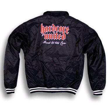 veste hardcore united blouson noir