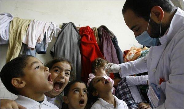 polio poliomyélite enfants syriens vaccin
