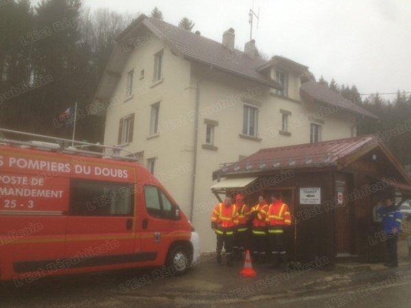 pompier police doubs Vallorbe terroriste