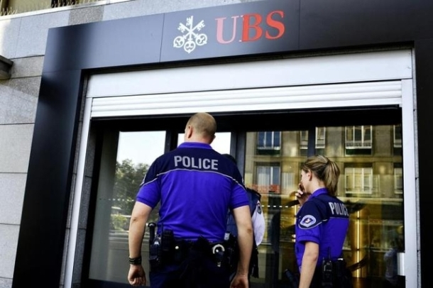 braquage UBS police Lausanne