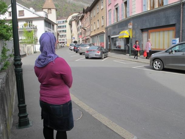 voile Aigle islam musulmane foulard