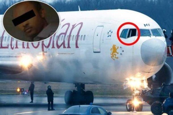 pirate de l'air ethiopien avion détournement
