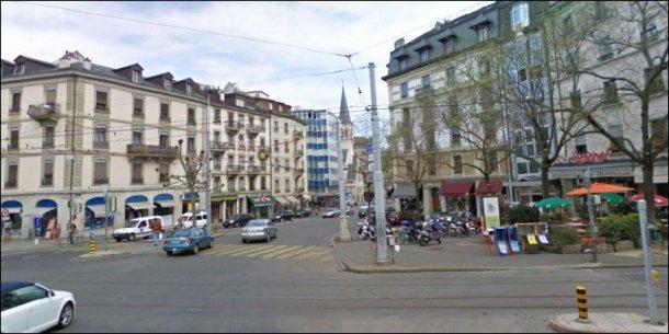 Genève centre ville épicerie