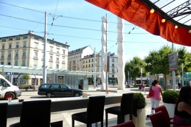 Terrasse Plainpalais Genève