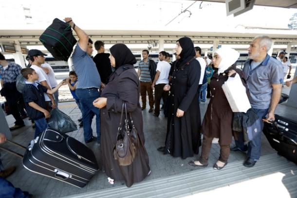 requérant asile islam voilée musulmane