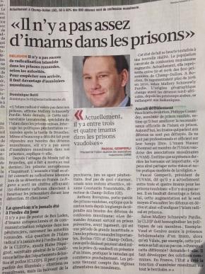Il n'y a pas assez d'imams dans lesprisons