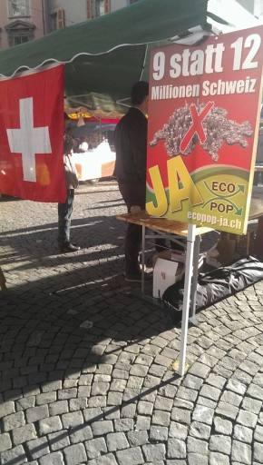Initiative Ecopop en Suisse : un excellent concept, une originecontroversée