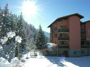 hôtel Rustico Laax Grisons asile neige hiver