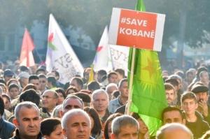 manifestation Kurdes Zurich