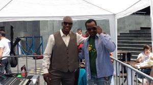 Le Cheikh Tidiane Diouwara lors de la « Journée des réfugiés » à Lausanne