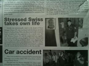 Un Suisse se suicide (?) en Thaïlande en se coupant lagorge