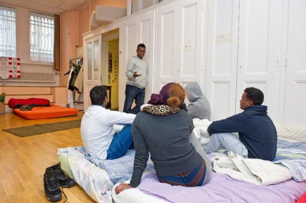 église st-laurent asile squat collectif R Dublin